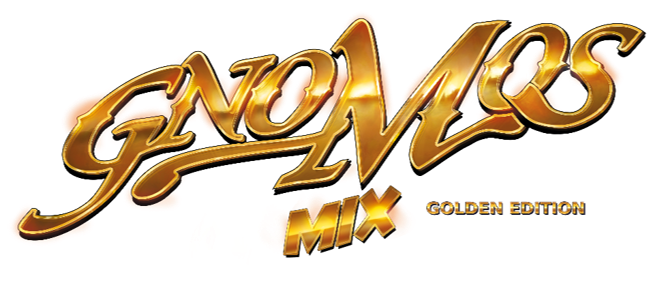 gnomos mix golden logo