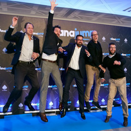 WANAJUMP, R.FRANCO'S VIDEOGAMING, BETTING AND GAMING STARTUP ACCELERATOR, IS RELEASED