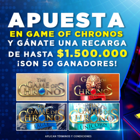 "Betplay lanza el torneo ""The Game of Chronos"""